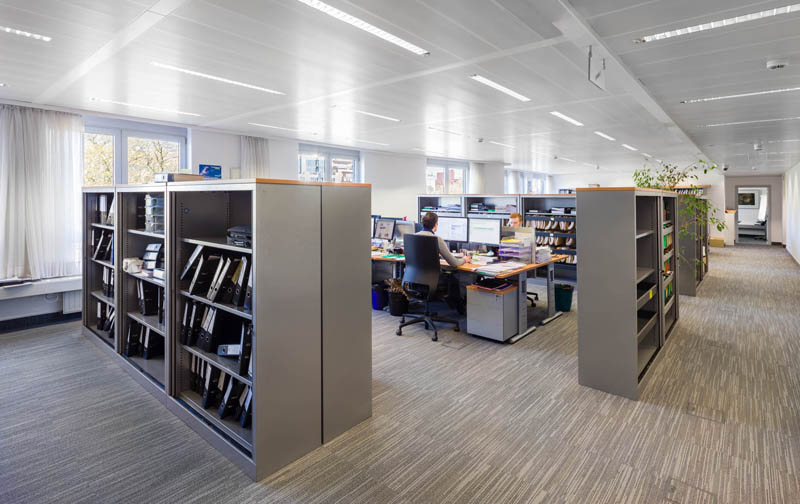 Brussel - HDI - kantoorinrichting